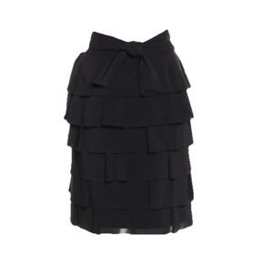 RED VALENTINO  Ruffled Knee-Length Skirt  Size: S